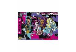 Пазлы Школа Монстров (Monster High), 12 элементов, в рамке